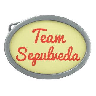 Team Sepulveda Belt Buckle