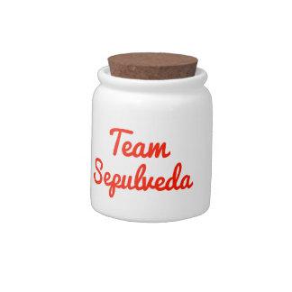 Team Sepulveda Candy Dish