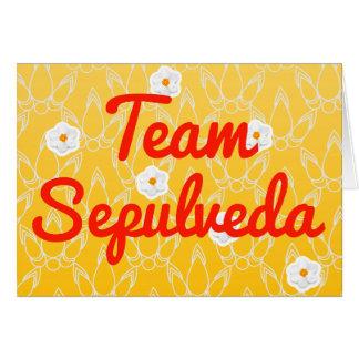 Team Sepulveda Greeting Cards