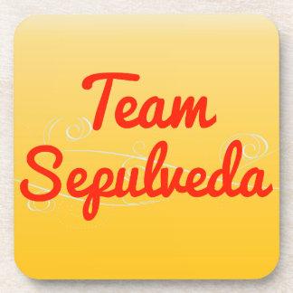 Team Sepulveda Beverage Coasters