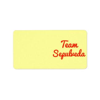 Team Sepulveda Labels