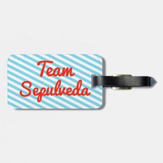 Team Sepulveda Tags For Bags