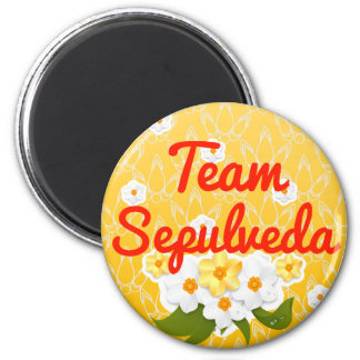 Team Sepulveda Refrigerator Magnet