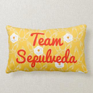 Team Sepulveda Throw Pillow