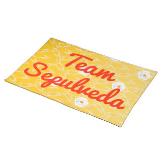 Team Sepulveda Placemat