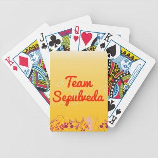 Team Sepulveda Deck Of Cards