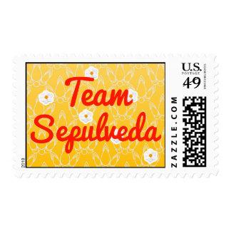 Team Sepulveda Postage Stamps