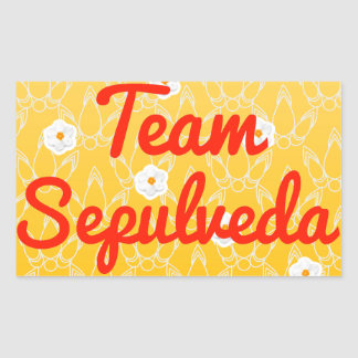 Team Sepulveda Rectangle Stickers