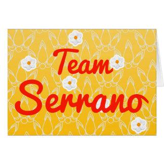 Team Serrano Greeting Cards
