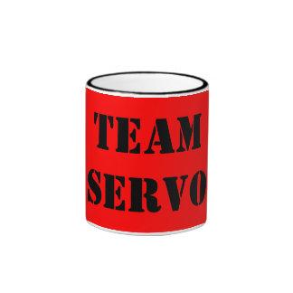 TEAM SERVO RINGER COFFEE MUG
