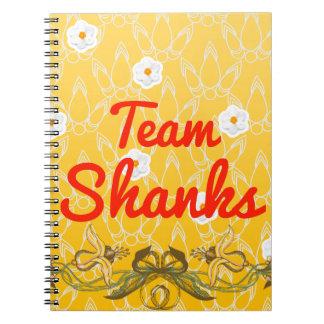 Team Shanks Spiral Notebook