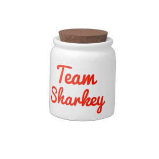 Team Sharkey Candy Dishes
