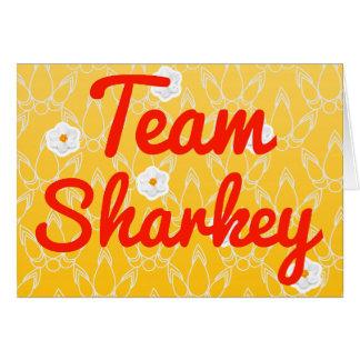 Team Sharkey Greeting Card