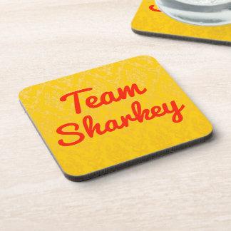 Team Sharkey Drink Coaster