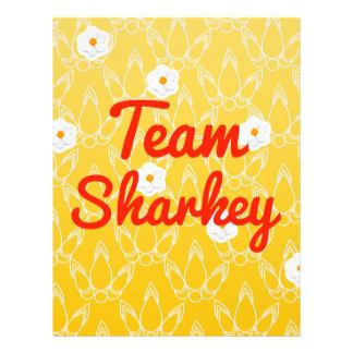 Team Sharkey Full Color Flyer