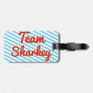 Team Sharkey Tag For Luggage