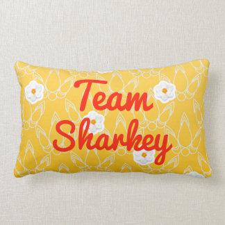 Team Sharkey Throw Pillow
