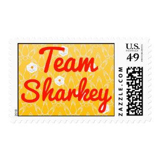 Team Sharkey Postage Stamp