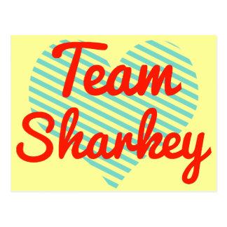 Team Sharkey Postcard