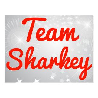 Team Sharkey Post Card