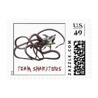Team Sharktopus Stamps
