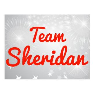 Team Sheridan Postcard