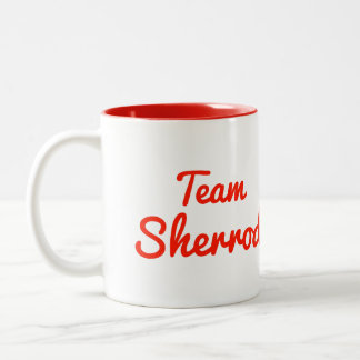 Team Sherrod Two-Tone Coffee Mug