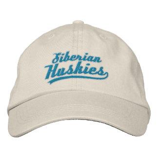 Team Siberian Husky Baseball Cap