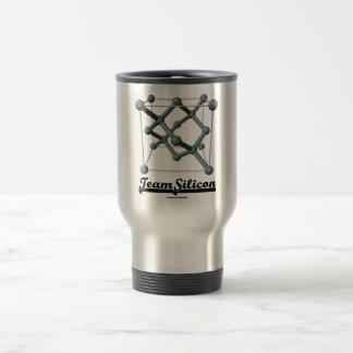Team Silicon (Silicon Unit Cell Structure) Coffee Mug