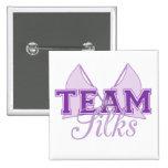 Team Silks Purple Pins