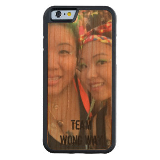 Team Sisters Carved Cherry iPhone 6 Bumper Case