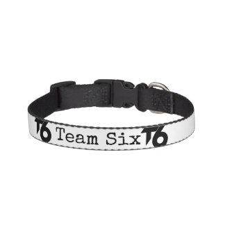 Team Six Dog collar