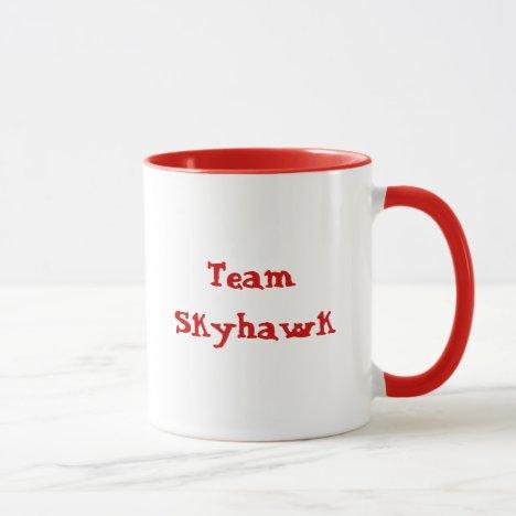 Team Skyhawk mug. Mug