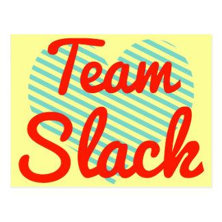 Team Slack Postcard