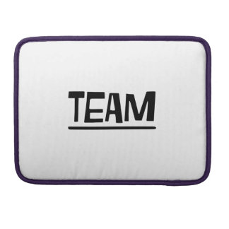 team sleeve for MacBooks