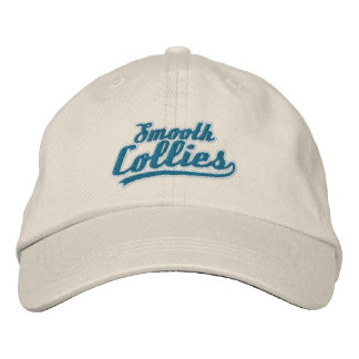 Team Smooth Collie Embroidered Hat