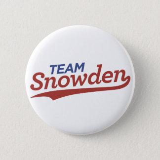 Team Snowden Script Pinback Button