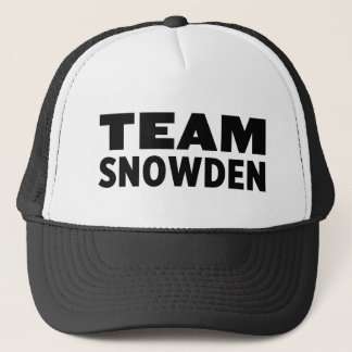 Team Snowden Trucker Hat