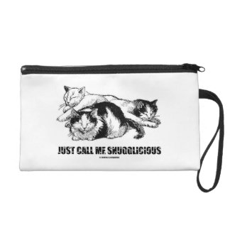 Team Snugglicious (Three Cats Snoozing) Wristlet Clutch