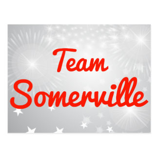 Team Somerville Postcards