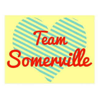 Team Somerville Postcard