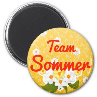 Team Sommer Fridge Magnets