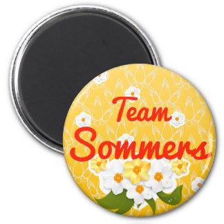 Team Sommers Fridge Magnets