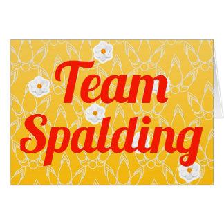 Team Spalding Greeting Card