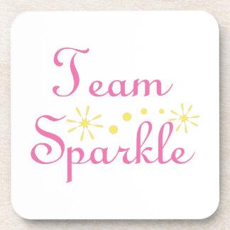 Team Sparkle Beverage Coaster