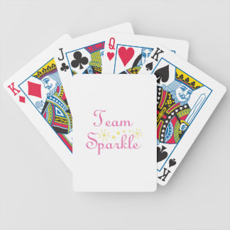Team Sparkle Bicycle Playing Cards