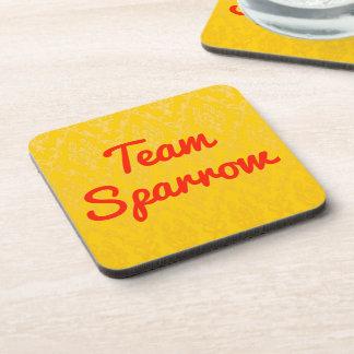 Team Sparrow Drink Coaster