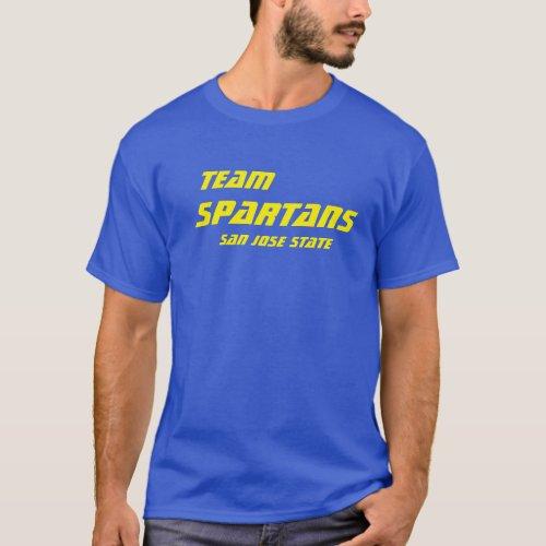 Team Spartans T_Shirt