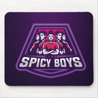 Team Spicy Boys Mouse Pad