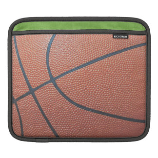 Team Spirit_Basketball texture_autograph ready iPad Sleeve